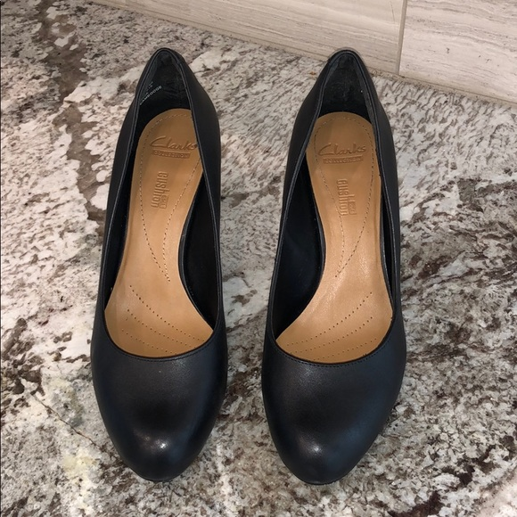 Clarks Collection Soft Cushion Heels